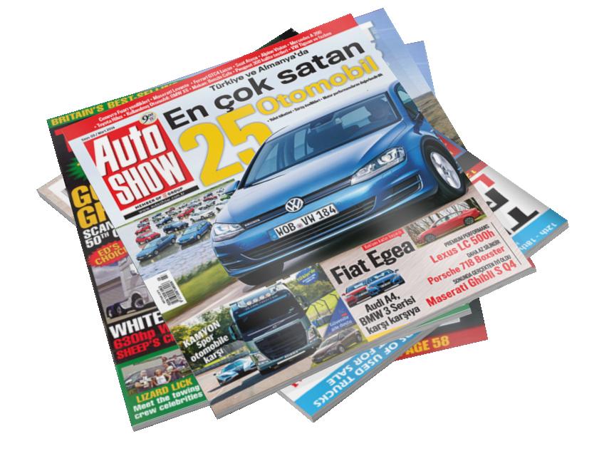 Magazines - Auto Show (Dergiler - Auto Show) for Euro Truck Simulator 2.