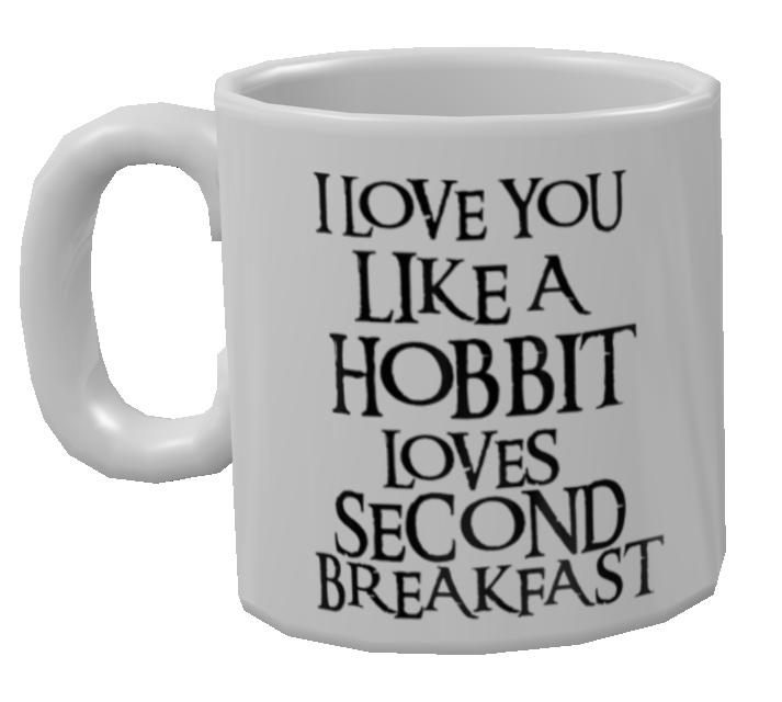 Mug - Hobbit's Love (Kupa - Hobbit's Love) for Euro Truck Simulator 2.