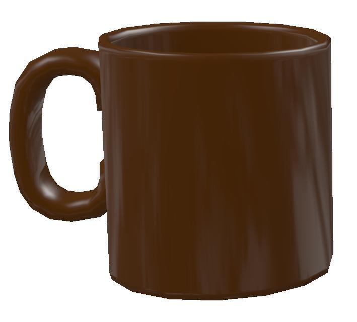 Color Mug - Brown (Renkli Kupa - Kahverengi) for Euro Truck Simulator 2.