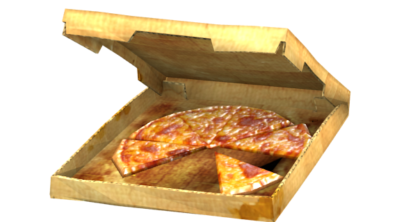 Pizza for Euro Truck Simulator 2.