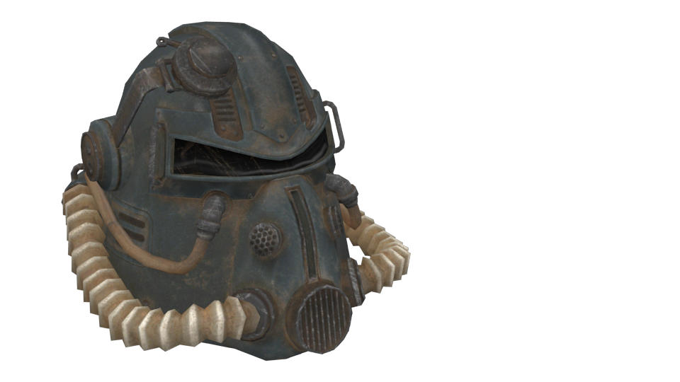 Fallout - T51 Helmet for Euro Truck Simulator 2.
