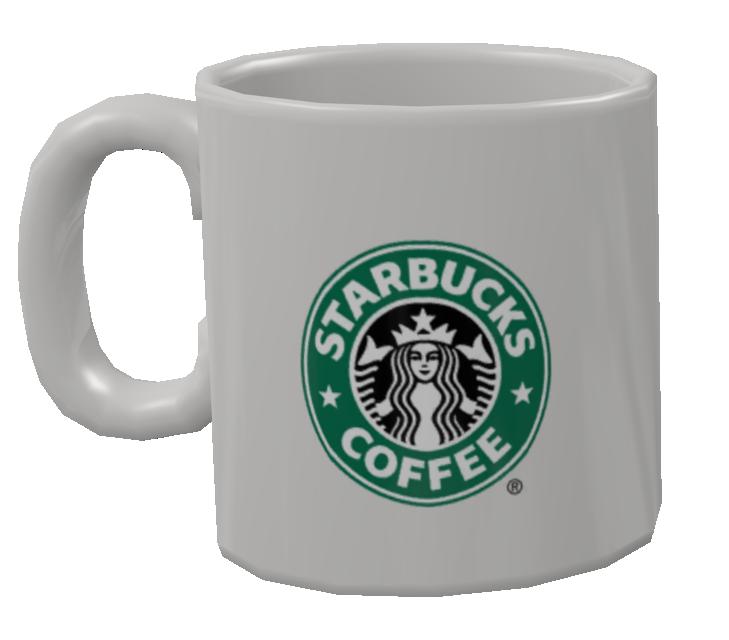 Mug - Starbucks (Kupa - Starbucks) for Euro Truck Simulator 2.