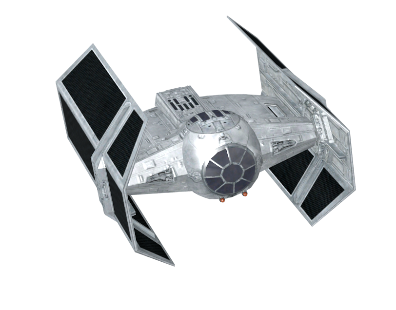 TIE Advanced (Vader's Ship) for Euro Truck Simulator 2.